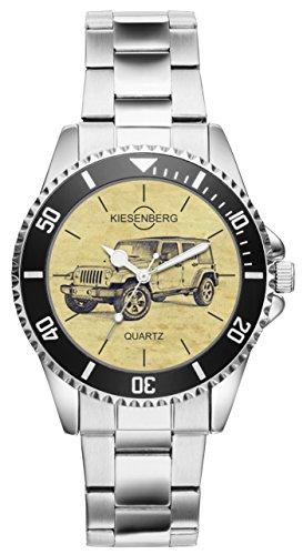 Geschenk für Jeep Wrangler Fans Fahrer Kiesenberg Uhr 6289