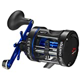 Best Saltwater Fishing Reels - Piscifun Chaos XS Round Baitcasting Fishing Reel Reinforced Review