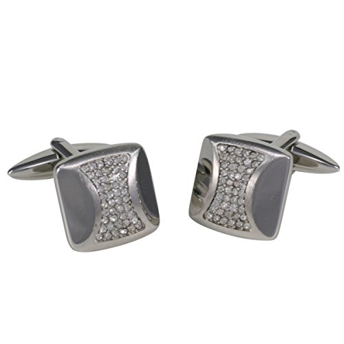 Boutons de manchette Homme George Chabrolle, Kristall, im Etui 338