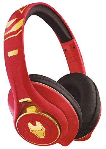 Iron Man Bluetooth Headphones with Microphone