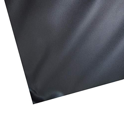 Heissner Teichfolie PVC schwarz, Stärke 1,00 mm von 6-48 m² 6x1m = 6m²