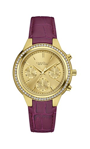 Caravelle Ny Ladies Fashion 44L182 - Orologio da Polso Donna