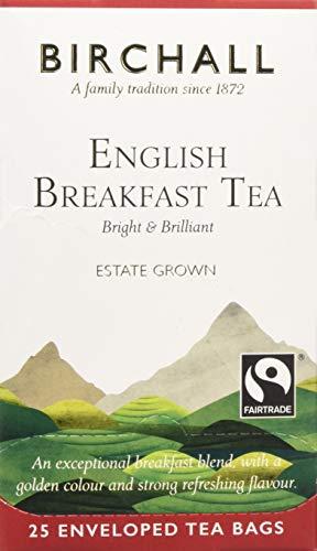 Birchall English Breakfast Tea - 25 Enveloped Tea Bags