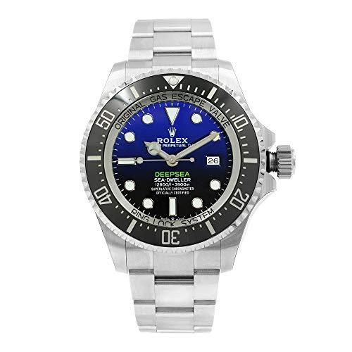 Rolex Deepsea D-Blue Dial automático de acero inoxidable Oyster reloj 126660BLSO