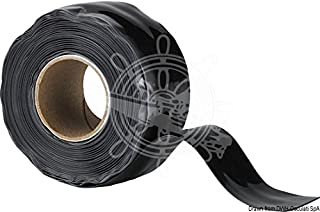 Osculati Nastro in Silicone Nero X-Treme (X-Treme Self-amalgamating Silicone Tape Black