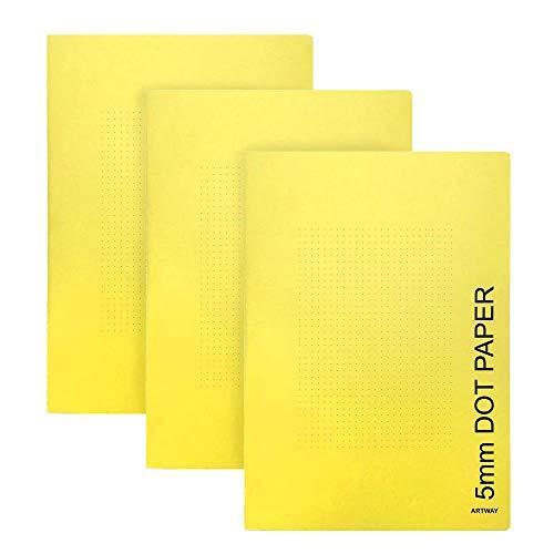 Artway 2302384 - Pack de 3 Cuadernos de tamaño A4 - Papel...