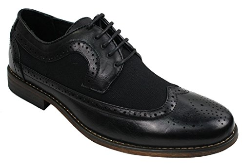 Chaussures Homme Derbies Simili Cuir PU Design Italien Vintage Rétro Chic et Décontracté Marron Noir Bleu Marine