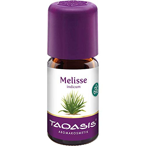 TAOASIS Melisse indicum bio 100% Naturduft Öl, 5 ml ätherisches Öl