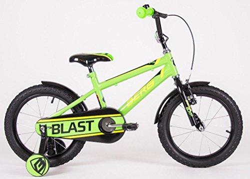 BERG Vélo Enfants 16 Pouces Vert