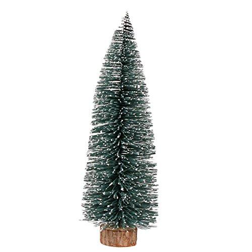 Ruikey Mini Weihnachtsbaum kleiner Christbaum künstlich Tannenbaum 10CM 1Stück