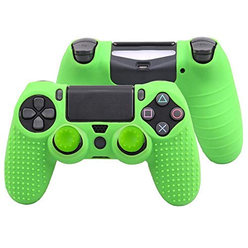 XFF Gamepad Controller Playstation Joypad PS4 Game Handle Controller Silicone Handle Cover, Camouflage Handle Cover Non-Slip Rubber Cover Game Console, Suitable for Game Lovers