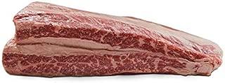 Creekstone Farms Premium Black Angus Beef - USDA Prime, Boneless Navel Short Rib   2 Pieces ( Each Average 3 Pound)