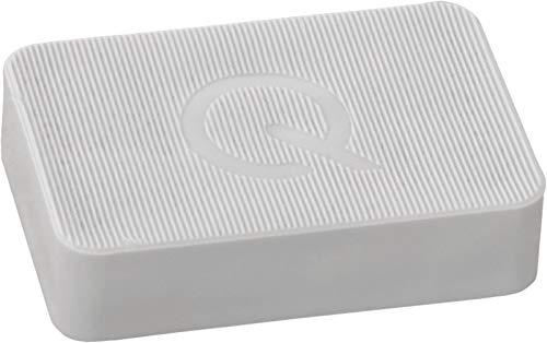 greenteQ Premium Unterlegplatten - Abstandshalter, Plättchen aus Kunststoff | hohe Tragkraft | 25 Stück 60x40x15mm Grau