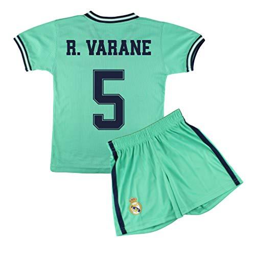 Champion's City Set Shirt und Hose für Kinder zur Erstausstattung, Real Madrid, Replik, Spieler 12 Jahre 5 - R. Varane
