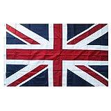 Lixure UK Flagge/Fahne Union Jack Britische Flagge 150x240cm Top Qualität für Windige Tage Nationalflagge-Durable 210D Nylon Draußen/Drinnen Dekoration Flagge - Nicht billiger Polyester...