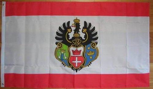 Flagge Fahne ca. 90x150 cm : Königsberg Kaliningrad Ostpreussen königsberger Stadtflagge