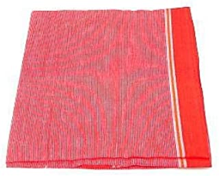 Gamchha - Traditional Indian Towel Made of Pure Thin Cotton Fabric