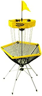 Innova DISCatcher Traveler Target – Portable, Lightweight Disc Golf Basket, Colors May Vary