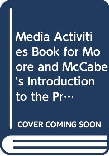 Media Activities Book for Moore and McCabe's Introduction to the Practice of Statistics