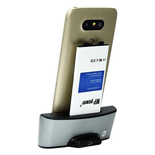 Mondpalast @ Dual slot Dock Cradle Caricabatterie + Micro USB cable + batteria X2 2800 mah per LG G5 lg g5 H850 H830 H820 VS987 LS992 H860N