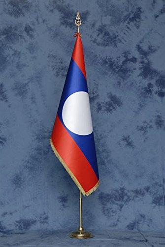Savent, Drapeau Laos Deluxe – Stand non inclus