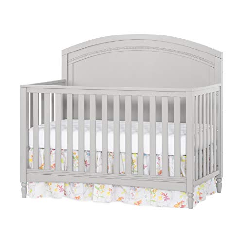 Review Of Child Craft Stella 4-in-1 Convertible Baby Crib in Gentle Gray
