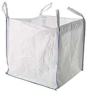 MULTISAC Big Bag 90x90x90cms. FIBC 1000 KG Ideal para la gestión de escombros, transporte de tierra, árido, etc.