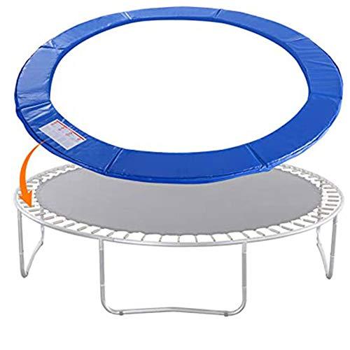 Almohadilla Seguridad Repuesto para TrampolíN, Cubierta Resorte Envolvente Absorbente Golpes, ProteccióN Ambiental de PE Anti-UV Impermeable, Multi TamañOs, Cuatro Colores Disponibles,Azul,10ft