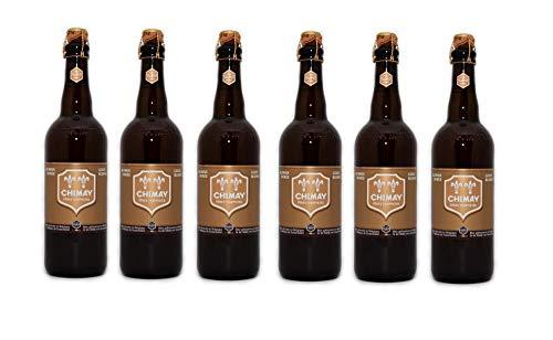 Chimay Doree cerveza rubia trapense [ 6 botellas x 750 ml ]