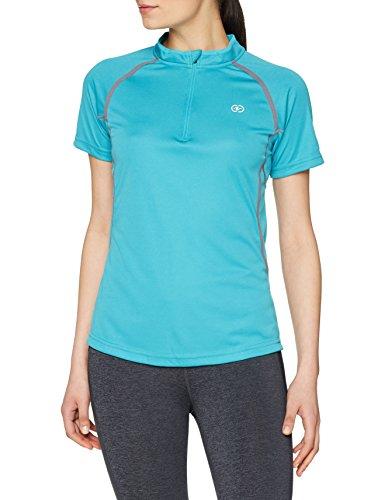 Damartsport 37321 T-Shirt Femme, Bleu Turquoise, FR (Taille Fabricant : XS)