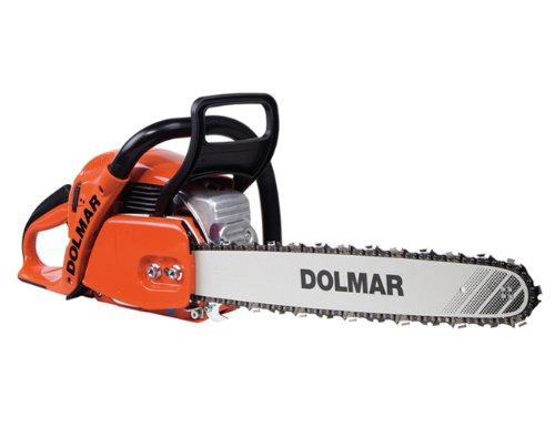 Dolmar PS500C-38 PS-500 C Benzin-Kettensäge, Schwarz, Orange, Edelstahl