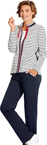 hajo Homewear women Damen-Freizeitanzug Interlock-Jersey Marine Größe 44/46