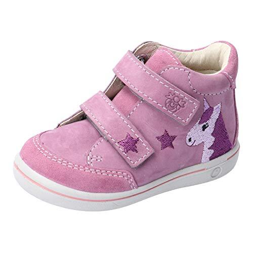 RICOSTA Kinder Lauflern Schuhe HANNI von Pepino, Weite: Mittel (WMS), Kinder Maedchen Kinderschuhe toben Spielen Freizeit,Purple,24 EU / 7 Child UK
