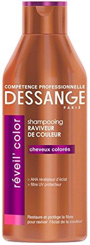 avis shampoing pour cheveux colorés professionnel DESSANGE – Shampooing Revitalisant Réveil'Color – 250 ml
