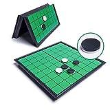 【2020年モデル】 マグネット リバーシ 折り畳み 収納 テーブル ボード ゲーム 持ち運びが簡単 初心者 こども 大人向け JMLH