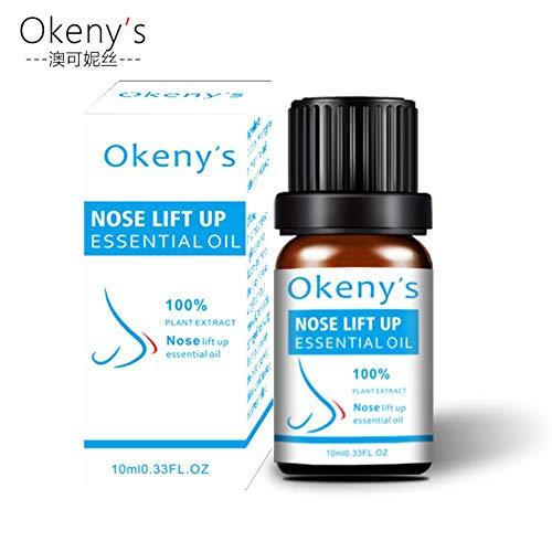 Allbesta 100% Pure Naturel Nose Lift Up Serum Essential Oil Lifting Shaping Remodelage de l'os nasal