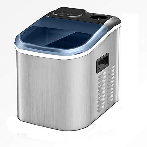 Mini-Eismaschine, Haushalts- und gewerbliche Eismaschine, 25 kg, Stehtisch Kleine Eismaschine, 1,2-l-Tank, Milchteeladen Fangbing Automatische Großkapazität für Hotel/Bar