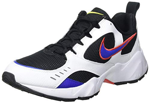 Nike Herren Air Heights Laufschuh, Negro/Hyper Blue/Blanco/Track Red, 41 EU