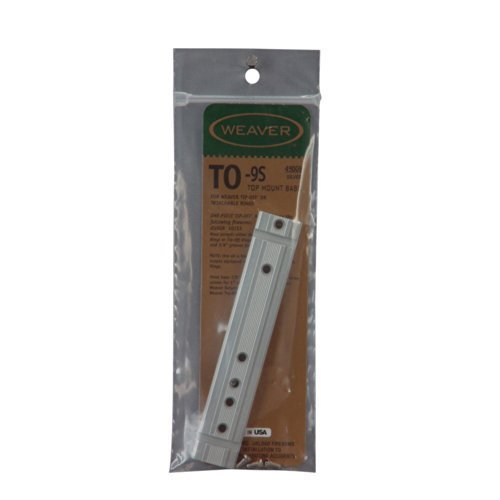 Weaver .22 Tip-Off Aluminum Base - TO-9S by Weaver