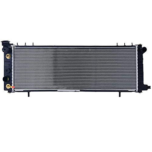 AutoShack RK485 31.2in. Complete Radiator Replacement for 1994-2001 Jeep Cherokee 2.5L 4.0L