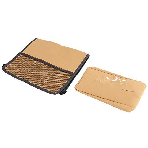 Deryang Estuche para pañuelos de automóvil, Impermeable y fácil de Limpiar, Caja de Almacenamiento para Colgar en el automóvil, Protege la Cubierta del Asiento Trasero, fácil de Abrir, Suciedad y