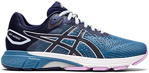 ASICS Women s GT 4000 2 Running Shoes 9M Grey Floss Peacoat product image