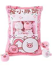 Schattig snack-kussen knuffeldier speelgoed pudding decoratieve afneembare kitty kat dolls creatief speelgoed geschenken voor tieners meisjes kinderen