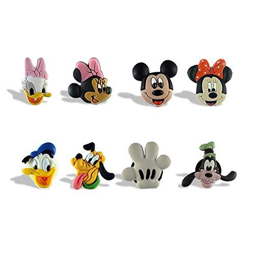 imanes de Nevera 8 PCS Mickey Minnie Cartoon Illustration Magnetic Nevera Nevera Magnet PVC Nevera Calcomanía Anime Magnet Niño Regalo Hogar Decoración Recuerdo