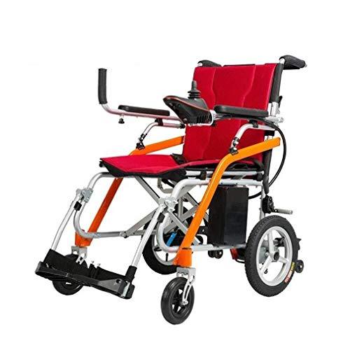 Modelo 2020 Doble y viajes Ligera Silla de ruedas eléctrica del motor motorizado sillas de ruedas eléctricas Silla De Ruedas Ruedas Eléctrica Potencia scooter Aviación Segura Heavy Duty Ayuda a la mov