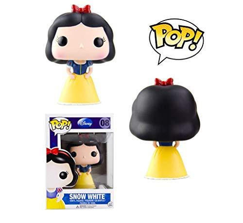Lxyy YF Snow White Key Pop Cadena Figura Blanco como la Nieve y los Siete Enanos Exquisito Figura PVC Pop de colección y Decoración