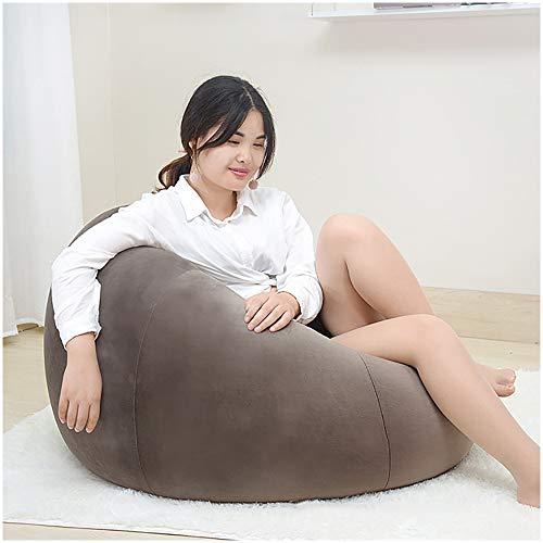 Kreative Fauler Bean Bag Sofa, Modern Schlafzimmer Balkon Lounge Sofa, Tatami Kleines Sofa, Kleine Wohnung Einfaches Sofa,Messing,Big