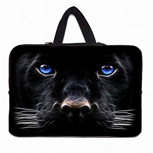 Yinghao Computer Neopren Tasche 10 12 13 14 15 17 Zoll Notbook Laptop Griff Fall für Lenovo Acer Aspire One HP MacBook Chromebook PC@Hund_13 Zoll