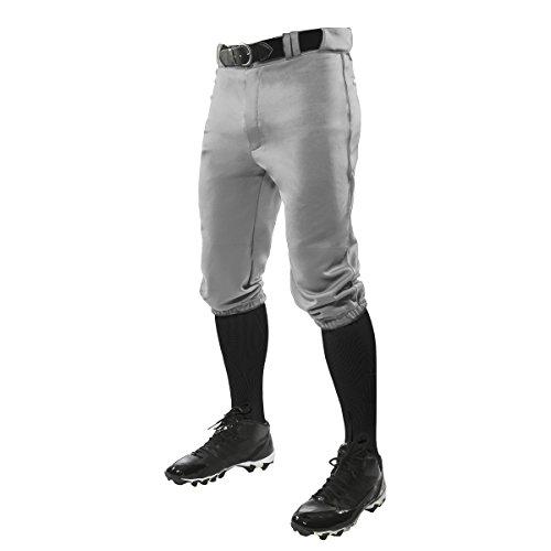 Champro Herren Erwachsene Triple Crown Slip, Herren, Baseball-Uniform-Hose, BP10AGRXL, grau, X-Large