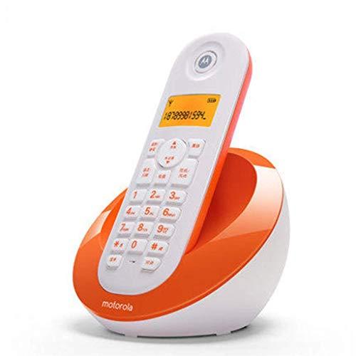 Gib nooit op eenvoudige en elegante digitale draadloze telefoon vaste net-enkele machine beller-ID-weergave kantoor thuis